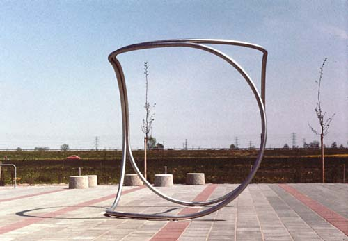 Apeldoorn Holland and the sculptures of Lucien den Arend - his site specific sculpture ordered by the city of Apeldoorn