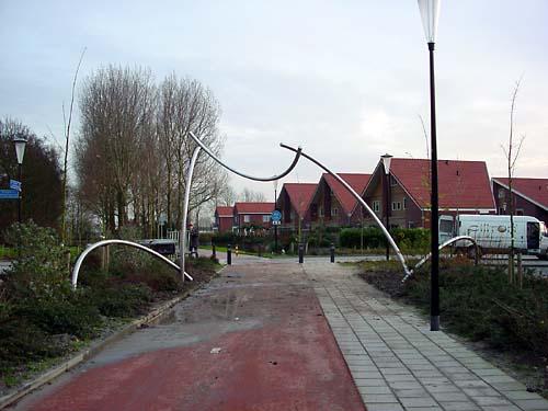 Heerhugowaard Holland and the sculpture of Lucien den Arend - his site specific sculptures ordered by the city of Heerhugowaard